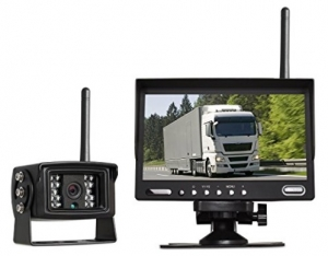 Extra Long Range Digital Wireless Observation Cam For Towed Trailer/Vehicle and Truck Double Trailer